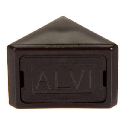 Комплект уголков мебельных с шурупами цвет темно-коричневый 6 шт.