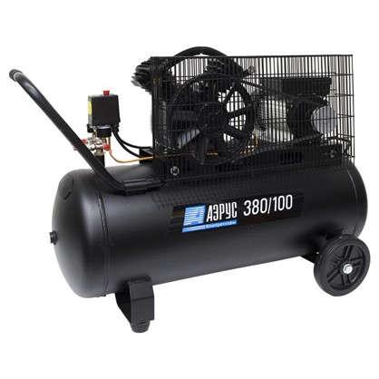 Компрессор масляный Аэрус 100 л 380 л/мин. 2.2 кВт