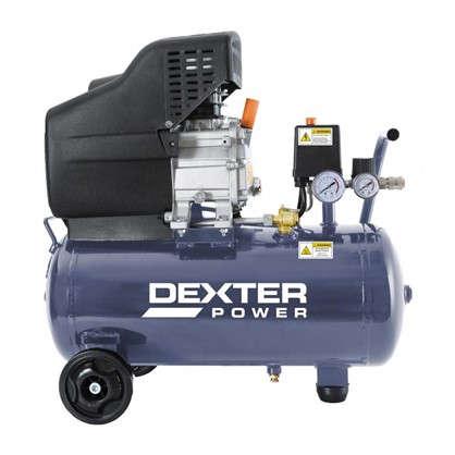 Компрессор масляный Dexter 24 л 1500 Вт 125 л/мин.