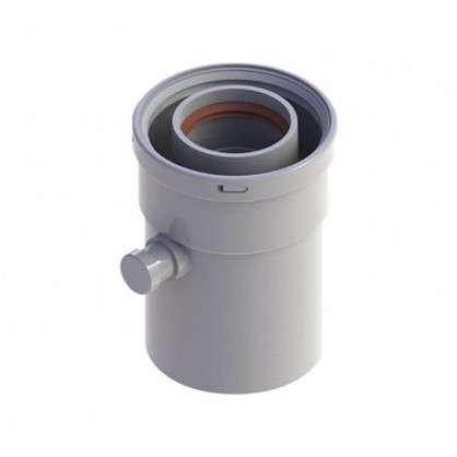 Конденсатосборник вертикальный D 60/100 мм