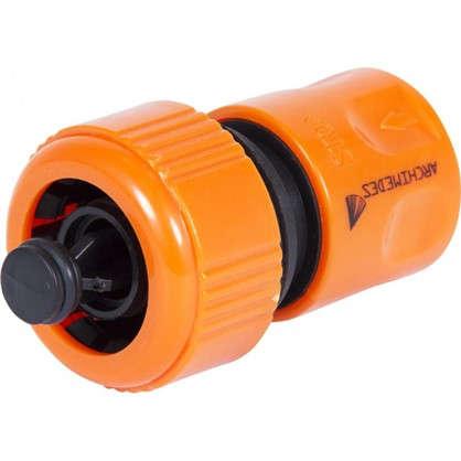Коннектор с автостопом 19 мм