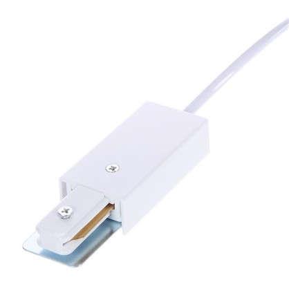 Коннектор с вилкой цвет белый