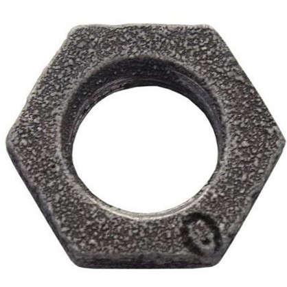 Контргайка 1/2 мм чугун цвет черный