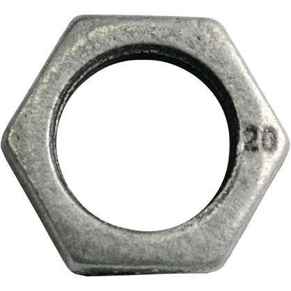 Контргайка оцинкованная 3/4 мм чугун