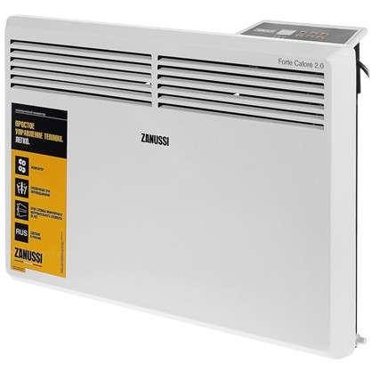 Конвектор электрический Zanussi ZCH/S-1500 ER 750 и 1500 Вт площадь обслуживания 20 м2 в