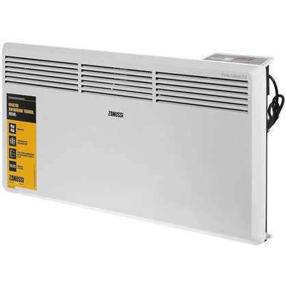 Конвектор электрический Zanussi ZCH/S-2000 ER 1000 и 2000 Вт площадь обслуживания 25 м2