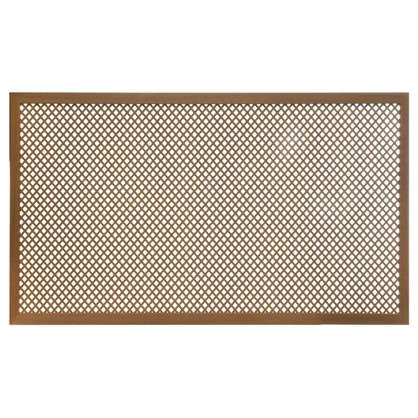 Короб декоративный для радиатора Глория 60х90 см цвет вишня