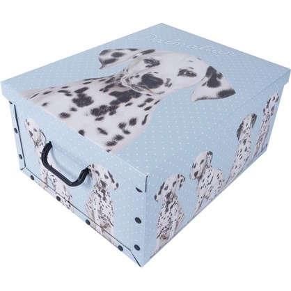 Короб с ручками Собаки 39х50х24 картон