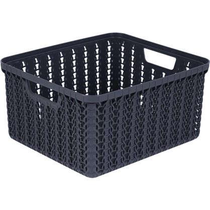 Коробка для хранения Вязание 1.5 л цвет графит