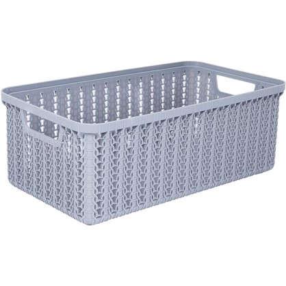 Коробка для хранения Вязание 3 л цвет серый
