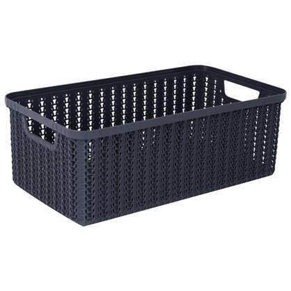 Коробка для хранения Вязание 6 л цвет графит