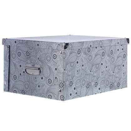 Коробка картон 45x35x22.5 см узор