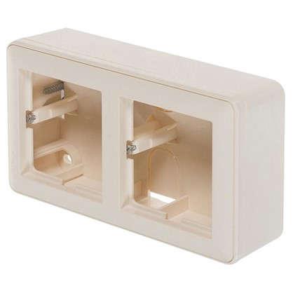 Коробка подъемная Schneider Electric W59 двухместная