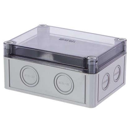 Коробка приборная с низкой крышкой со степенью защиты IP65