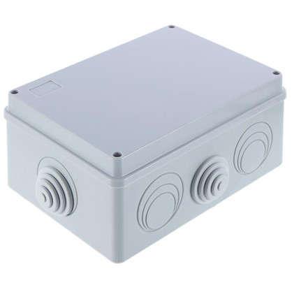 Коробка распределительная Экопласт 190х140х70 мм цвет серый IP55