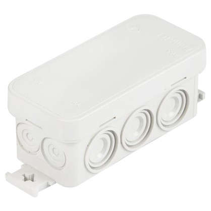 Коробка распределительная Экопласт 90х42х50 мм цвет серый IP56