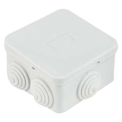 Коробка распределительная Экопласт70х70х40 мм цвет серый IP44