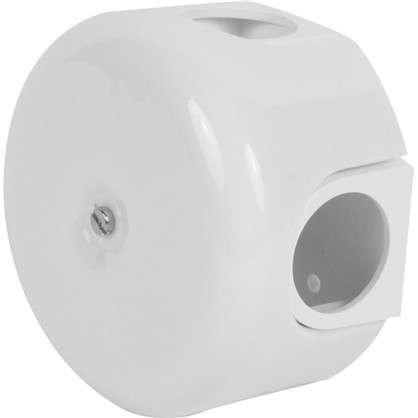Коробка распределительная керамика цвет белый