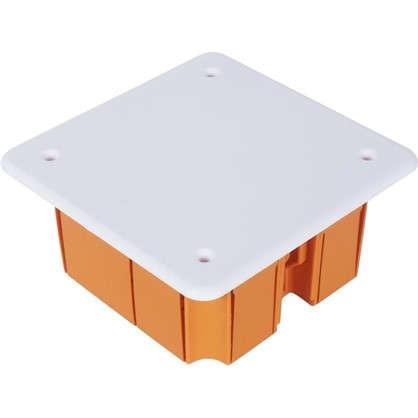 Коробка распределительная TDM 92х92х40 мм цвет оранжевый