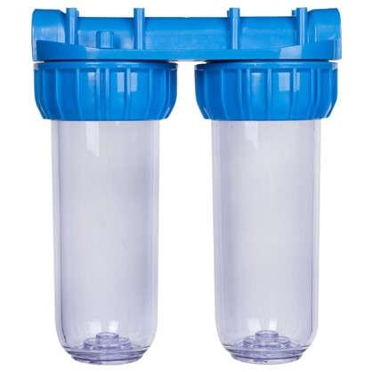 Корпус АкваКит SL10 3/4 SLD 3P TP для холодной воды