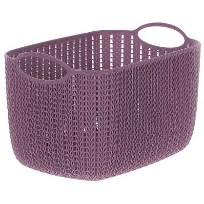 Корзина для хранения Вязание 7 л цвет пурпурный
