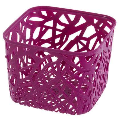 Корзинка Curver Neo квадратная пластик цвет розовый