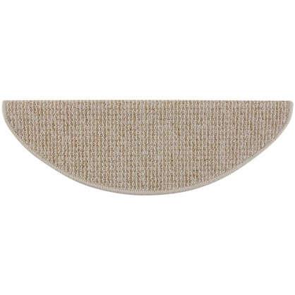 Коврик для ступеней Caransa 65x25 см цвет коричневый