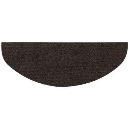 Коврик для ступеней полипропилен 23х59 см цвет коричневый