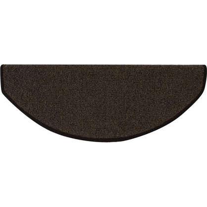 Коврик для ступеней полипропилен 28х65 см цвет коричневый