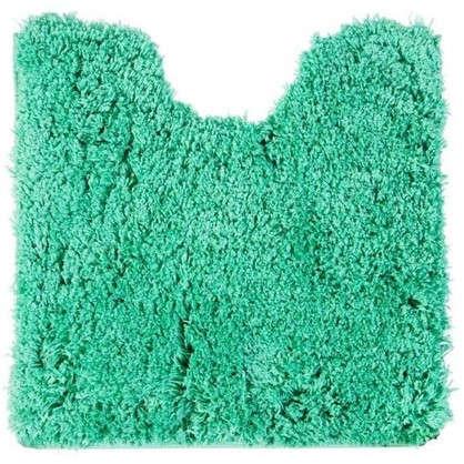 Коврик для туалета 55х55 см цвет зелёный