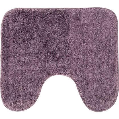 Коврик для туалета Sensea Lounge №6 50х40 см микрофибра цвет фиолетовый