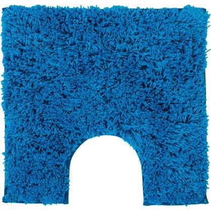 Коврик для туалета Sensea Twist 55х55 см микрофибра цвет синий