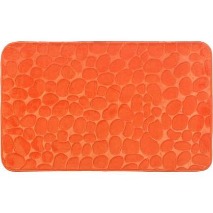 Коврик для ванной Grampus 80х50 см цвет оранжевый