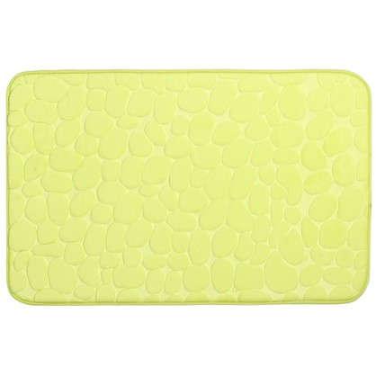 Коврик для ванной Grampus 80х50 см цвет светло-зелёный