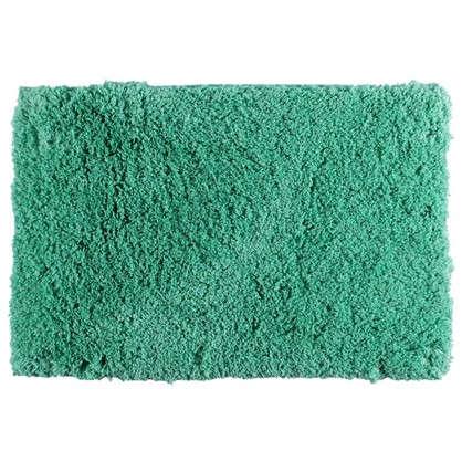 Коврик для ванной 60х90 см цвет зелёный