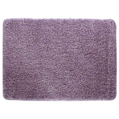 Коврик для ванной Amadeo 50x70 см цвет фиолетовый