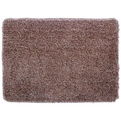 Коврик для ванной Amadeo 50x70 см цвет коричневый