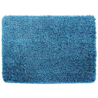 Коврик для ванной Amadeo 50x70 см цвет синий
