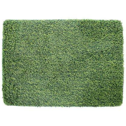 Коврик для ванной Amadeo 50x70 см цвет зелёный