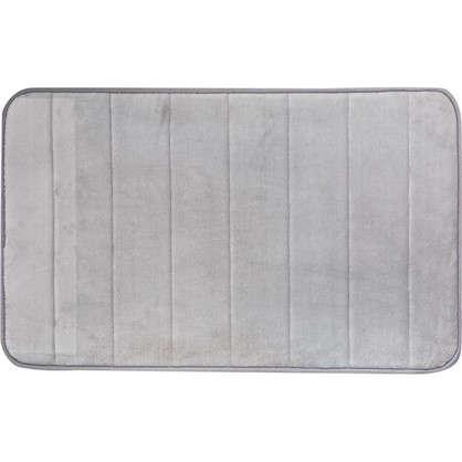 Коврик для ванной Coccon 50x80 см цвет серый