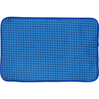 Коврик для ванной Corn 40х60 см цвет синий