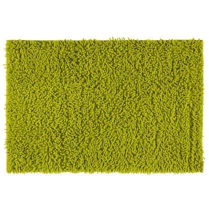 Коврик для ванной Crazy 50x70 см цвет зелёный