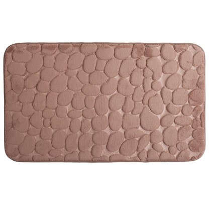 Коврик для ванной Luxury 45х75 см цвет коричневый