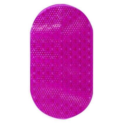 Коврик для ванной комнаты массажный антискользящий 38х69 см цвет в ассортименте