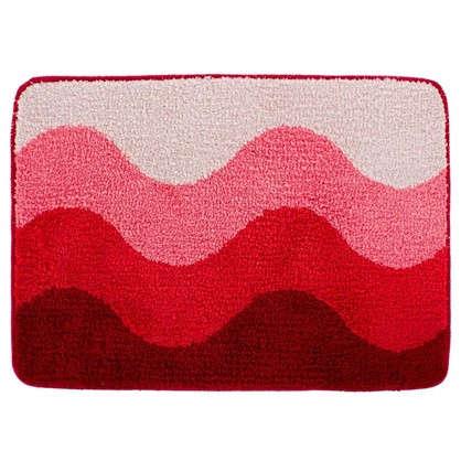 Коврик для ванной Rainbow 50х70 см цвет розовый