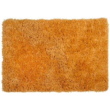 Коврик для ванной Shaggy 70х100 см цвет оранжевый