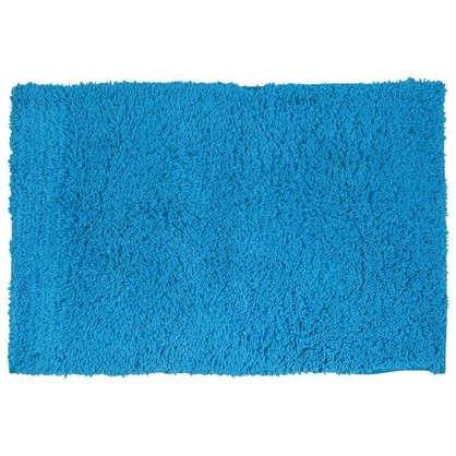 Коврик для ванной Twist 60х90 см цвет синий