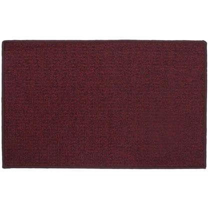 Коврик Лиссабон 50x80 см нейлон цвет красный