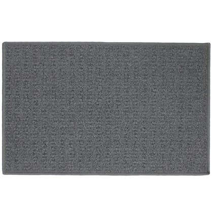 Коврик Лиссабон 50x80 см нейлон цвет серый
