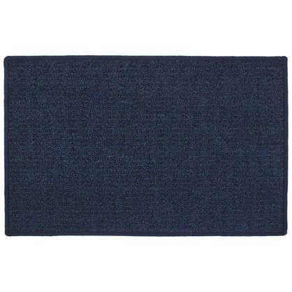 Коврик Лиссабон 50x80 см нейлон цвет синий